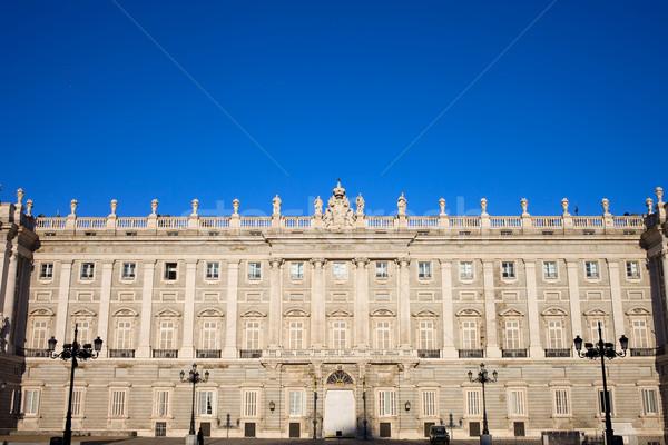 Royal Palace in Madrid Stock photo © rognar