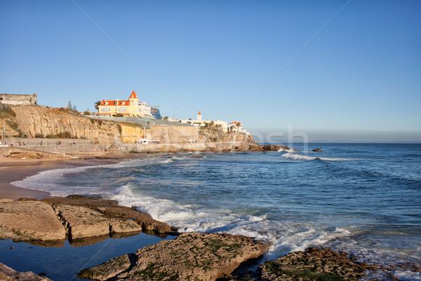 Estoril Coastline in Portugal Stock photo © rognar
