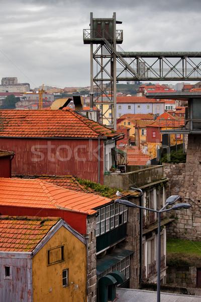 Historic City Centre of Porto in Portugal Stock photo © rognar