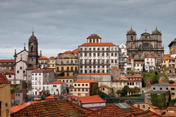ポルトガル 市 旅行 建物 ヨーロッパ ストックフォト © rognar