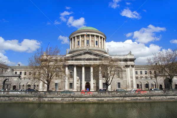 Négy Dublin Írország város utazás igazság Stock fotó © rognar