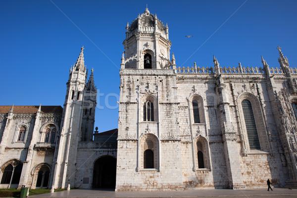 монастырь Лиссабон известный город ориентир Португалия Сток-фото © rognar