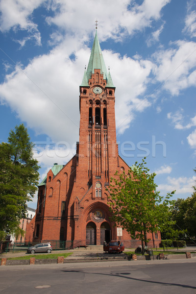 Church of St. Andrew Bobola in Bydgoszcz Stock photo © rognar
