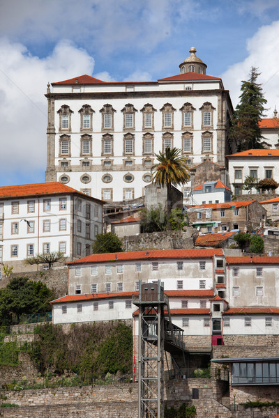 Episcopal Palace of Porto in Portugal Stock photo © rognar