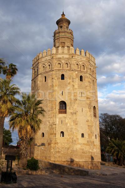 Torre del Oro in Sevilla Stock photo © rognar