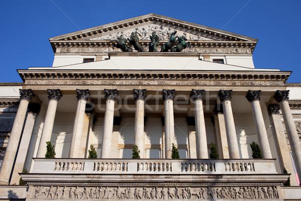 театра опера Варшава архитектурный Сток-фото © rognar