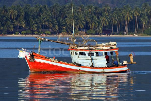 Fishing Boat Stock photo © rognar