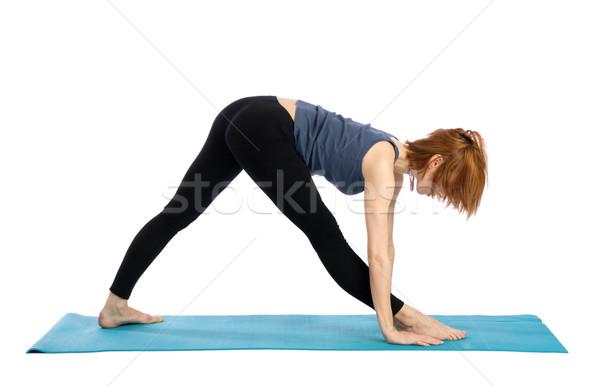 Woman Exercising Stock photo © rognar