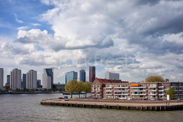 City of Rotterdam Cityscape Stock photo © rognar