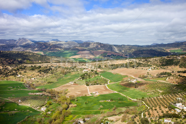 Andalusia Landscape in Spain Stock photo © rognar
