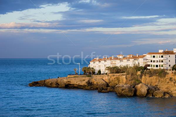 Nerja Coastline in Spain Stock photo © rognar