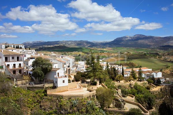 City of Ronda in Spain Stock photo © rognar