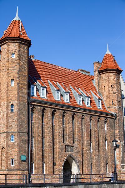 Cancello danzica città vecchia Polonia città viaggio Foto d'archivio © rognar