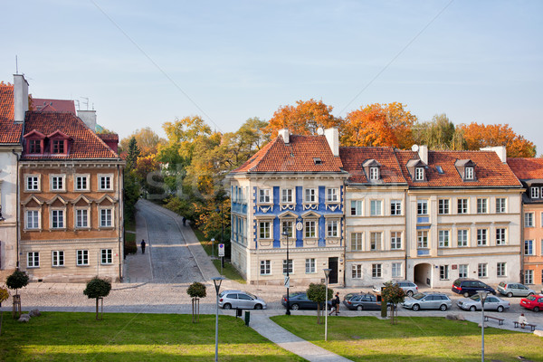 New Town Houses in Warsaw Stock photo © rognar