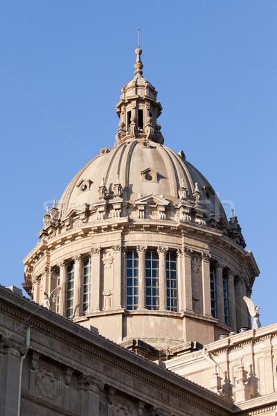Kupola művészet múzeum Barcelona épület Európa Stock fotó © rognar