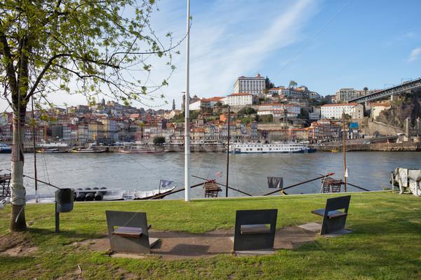 市 ポルトガル スカイライン 表示 海岸 世界 ストックフォト © rognar