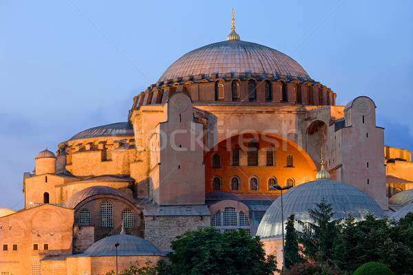 Hagia Sophia at Dusk Stock photo © rognar