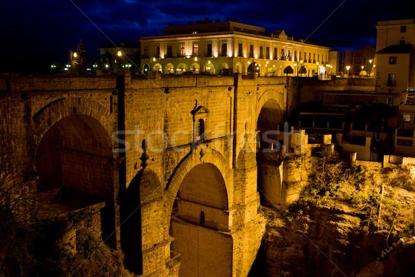 New Bridge in Ronda Stock photo © rognar