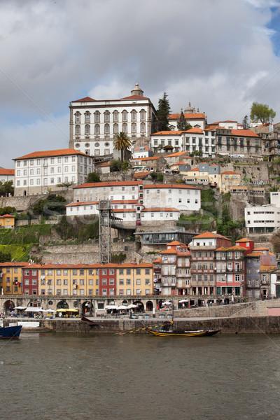 Historic Centre of Oporto in Portugal Stock photo © rognar
