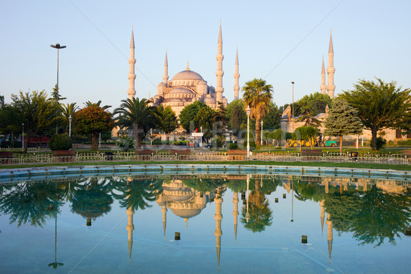 Blue Mosque at Dawn Stock photo © rognar