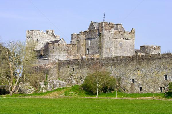 Cahir Castle in Ireland Stock photo © rognar