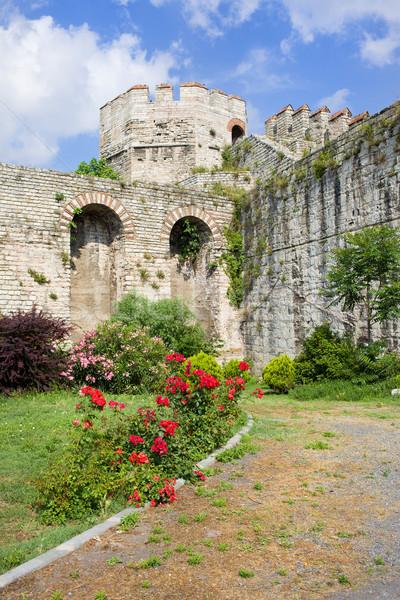 Yedikule Castle in Istanbul Stock photo © rognar