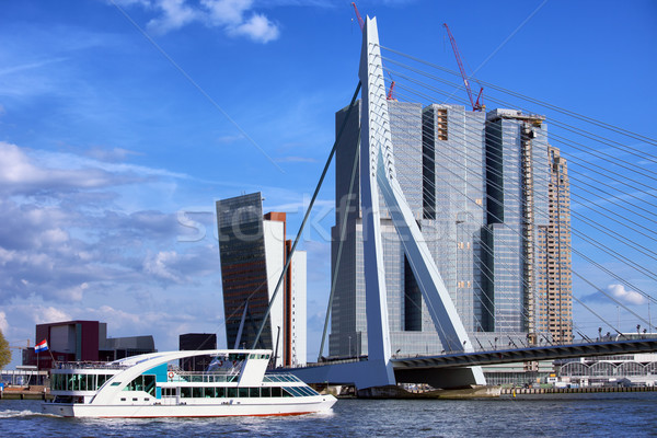 Rotterdam City Downtown Stock photo © rognar