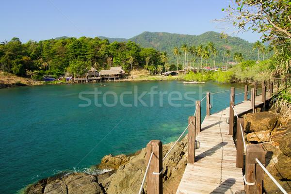 Sea Coast Landscape Stock photo © rognar