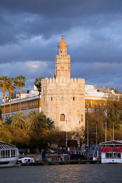 Torre del Oro in Seville Stock photo © rognar