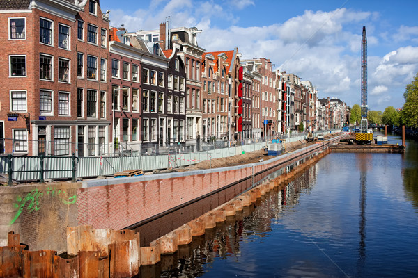 Prinsengracht Canal in Amsterdam Stock photo © rognar