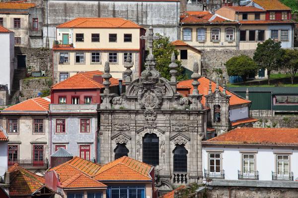 église vieille ville Portugal historique ville centre Photo stock © rognar
