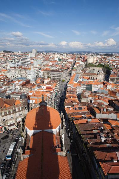 Stockfoto: Stad · Portugal · stadsgezicht · schaduw