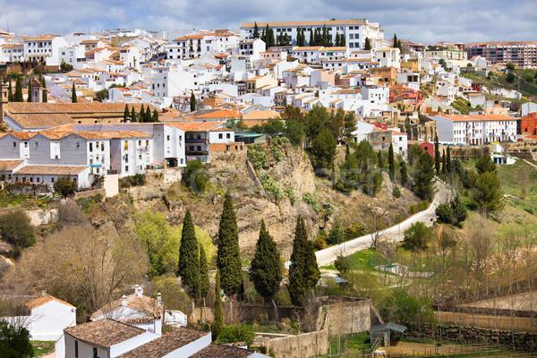 White Town of Ronda Stock photo © rognar