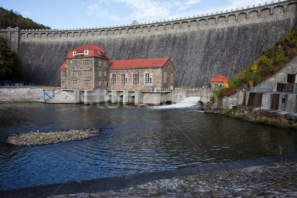 Pilchowice Dam in Poland Stock photo © rognar