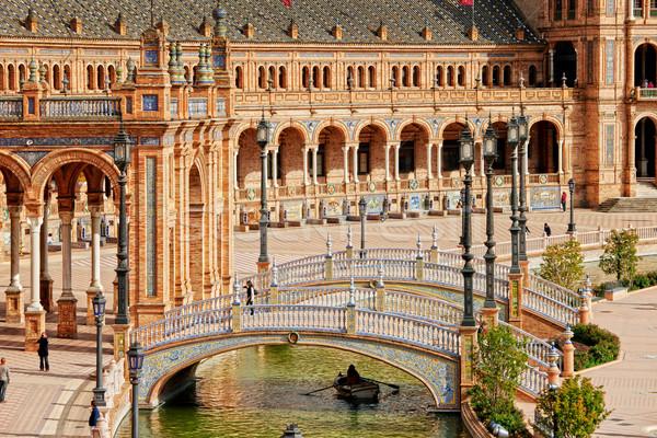 Stock foto: Platz · Architektur · Europa · Stil · Struktur · spanisch