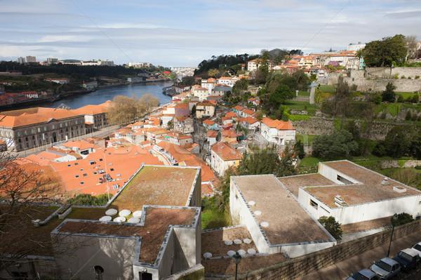 Cityscape of Porto in Portugal Stock photo © rognar