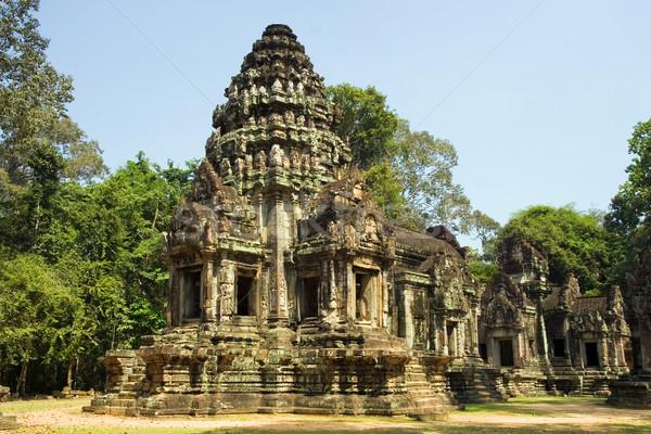 Tapınak ören Özel shiva eski angkor Stok fotoğraf © rognar