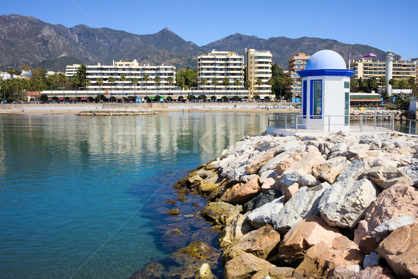 Marbella Bay Stock photo © rognar