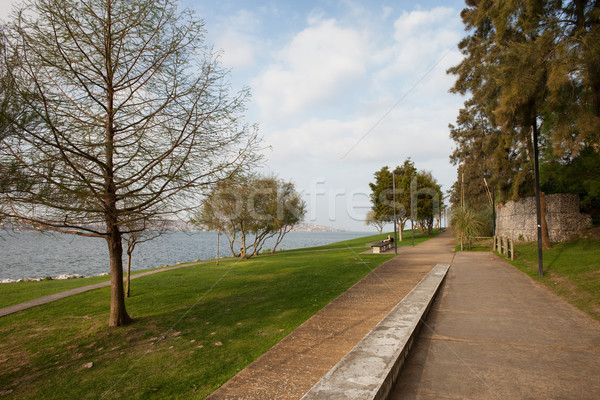 Almada Riverside Park in Portugal Stock photo © rognar