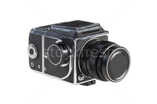 Old Medium Format Camera Stock photo © rognar