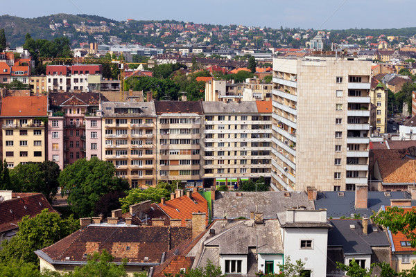Budapest Residential District Stock photo © rognar
