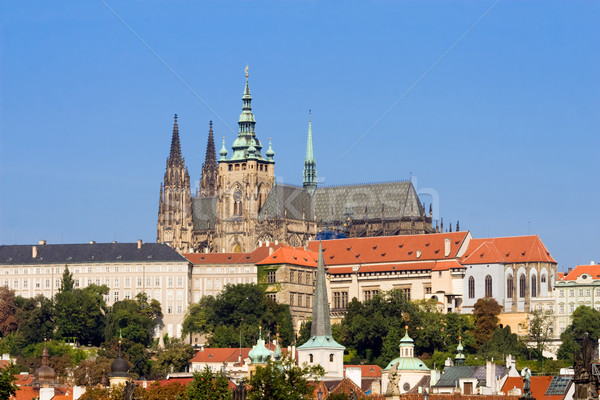 Prague Castle Stock photo © rognar
