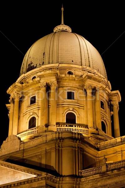 Royal Palace Dome in Budapest Stock photo © rognar