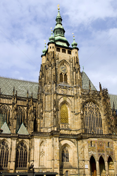 St. Vitus Gothic Cathedral Stock photo © rognar