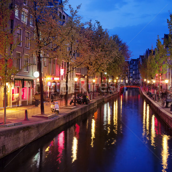 Red Light District in Amsterdam Stock photo © rognar