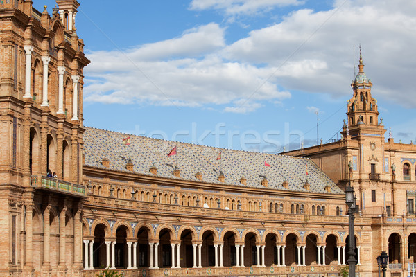 Plaza de Espana Pavilion in Seville Stock photo © rognar