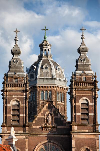 Saint Nicholas Church in Amsterdam Stock photo © rognar