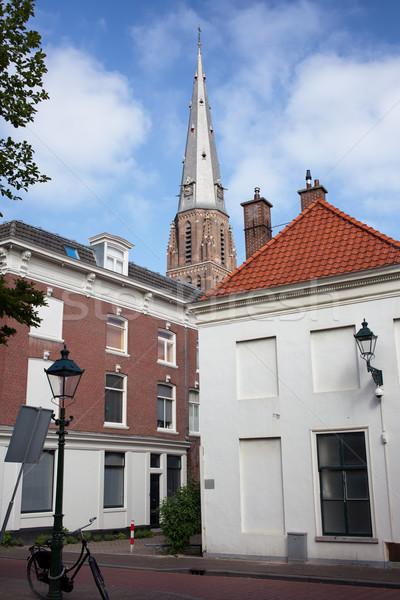 Urban Scenery in The Hague Stock photo © rognar