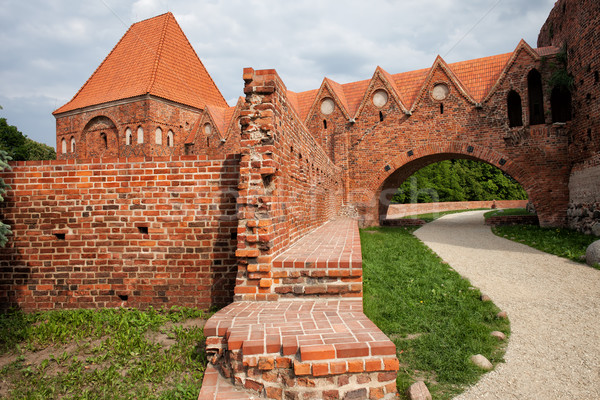城 ポーランド 歴史的 市 ランドマーク デート ストックフォト © rognar