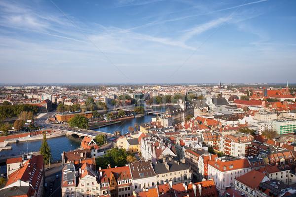 Wroclaw Cityscape in Poland Stock photo © rognar